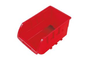 Connect 36993 Red Storage Bins 237mm x 144mm x 125mm Box of 20